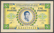 French Indo-China 1 piastre 1953 (Pick 104)