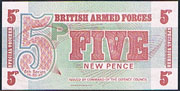 British armed forces 5 pence Pick M47
