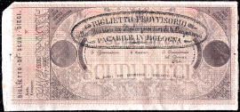Italy Papal States 10 scudi 1855 270